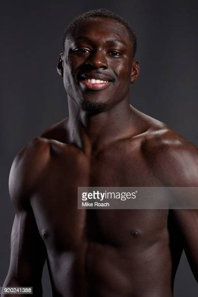 Curtis Millender poses for a post fight portrait backstage during the UFC Fight Night event at Frank Erwin Center on February 18 2018 in Austin Texas