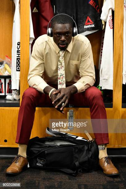 Curtis Millender waits backstage during the UFC Fight Night event at Frank Erwin Center on February 18 2018 in Austin Texas