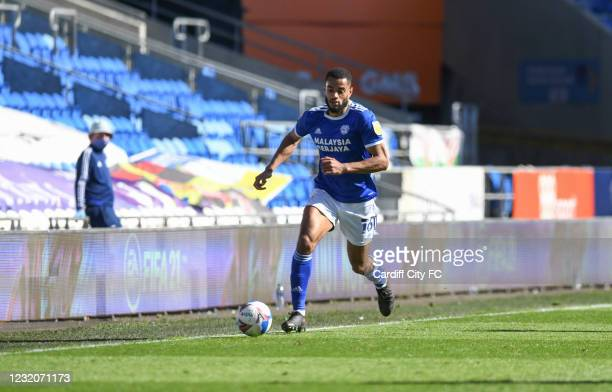 Curtis Nelson of Cardiff City FC during the Sky Bet Championship match between Cardiff City and Nottingham Forest at Cardiff City Stadium on April 2,...