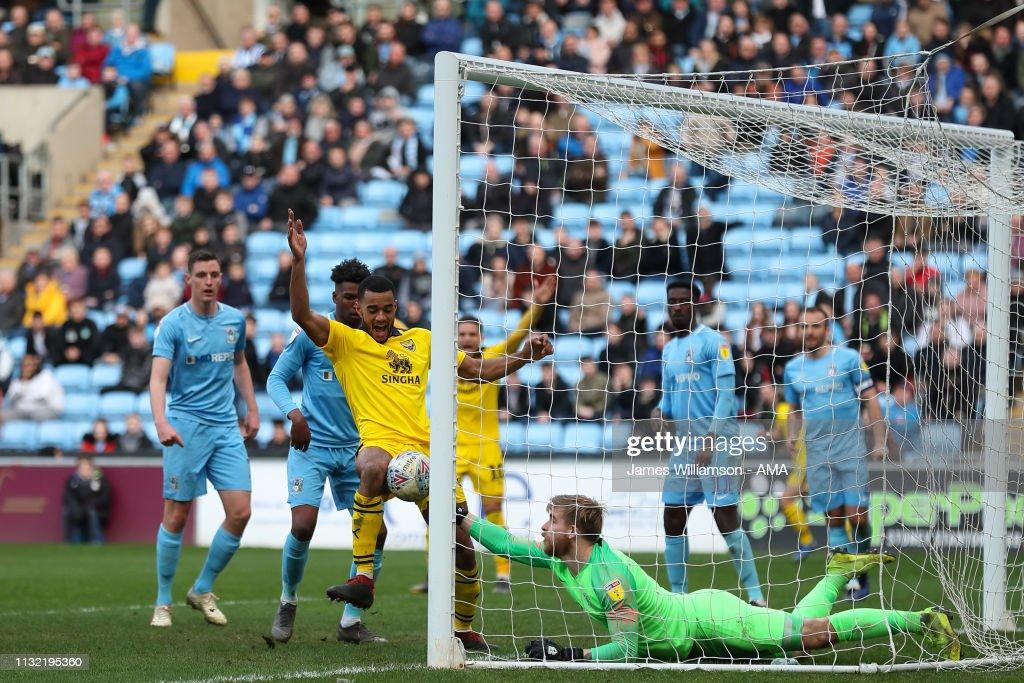GBR: Coventry City v Oxford United - Sky Bet League One