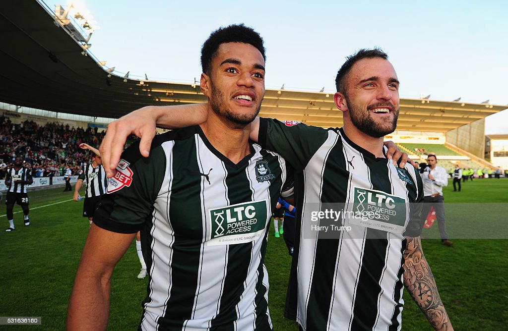 Plymouth Argyle v Portsmouth - Sky Bet League Two Play Off: Second Leg : News Photo