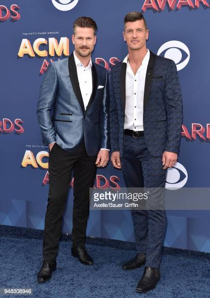 Curtis Rempel and Brad Rempel of High Valley attend the 53rd Academy of Country Music Awards at MGM Grand Garden Arena on April 15 2018 in Las Vegas...