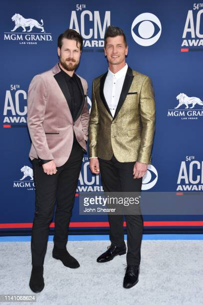 Curtis Rempel and Brad Rempel of High Valley attend the 54th Academy Of Country Music Awards at MGM Grand Hotel Casino on April 07 2019 in Las Vegas...