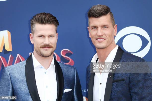 Curtis Rempel and Brad Rempel of musical group High Valley attend the 53rd Academy of Country Music Awards at MGM Grand Garden Arena on April 15 2018...