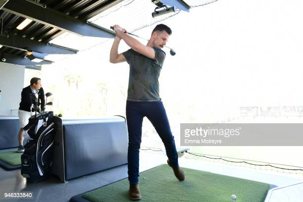 Curtis Rempel of High Valley attends the ACM Lifting Lives TOPGOLF TeeOff at Topgolf Las Vegas on April 14 2018 in Las Vegas Nevada