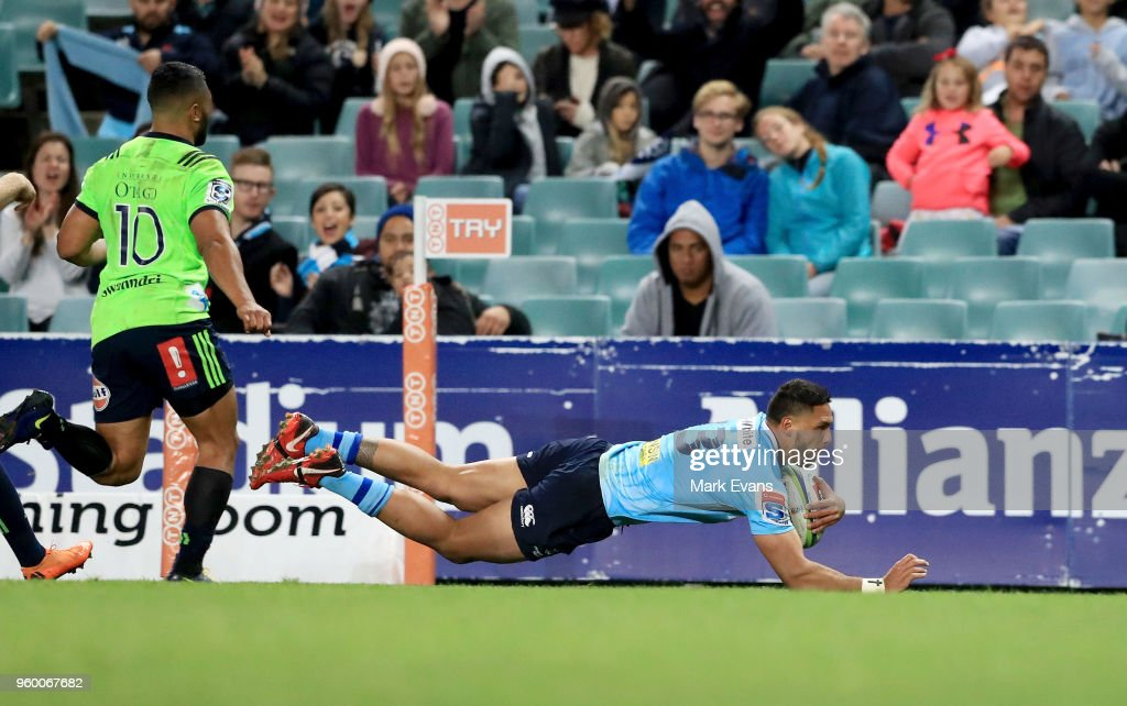 Super Rugby Rd 14 - Waratahs v Highlanders : News Photo