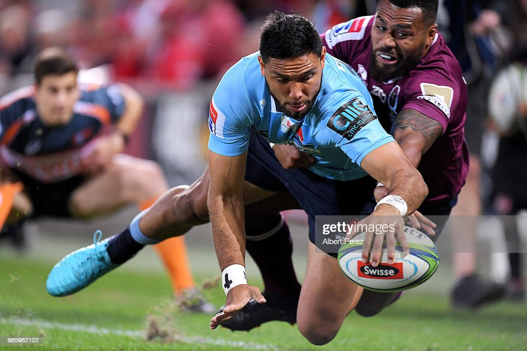 Super Rugby Rd 16 - Reds v Waratahs : News Photo