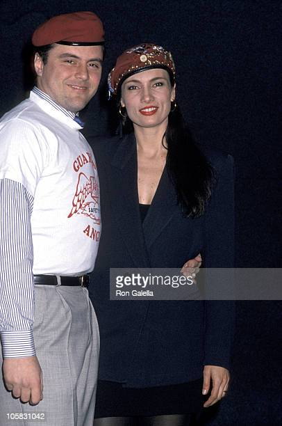 Curtis Sliwa and Lisa Sliwa during 4th Annual New York Music Awards at Beacon Theater in New York City New York United States