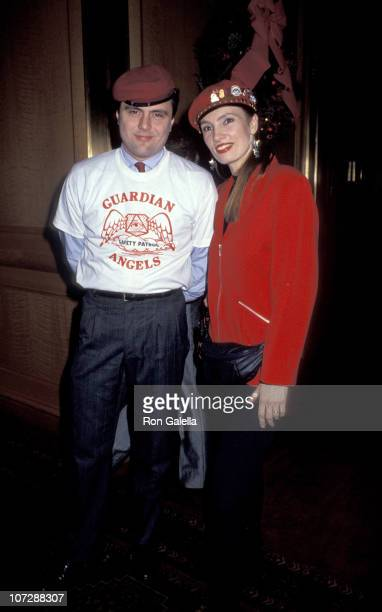 Curtis Sliwa and Lisa Sliwa during 80th Birthday Party For Joey Adams at Helmsley Hotel in New York City New York United States
