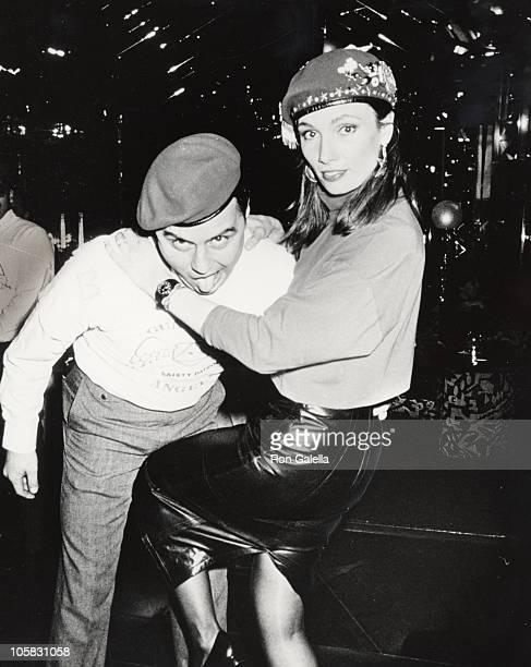 Curtis Sliwa and Lisa Sliwa during Promotion of Lisa Sliwa's Book Attitude at Regines in New York City New York United States