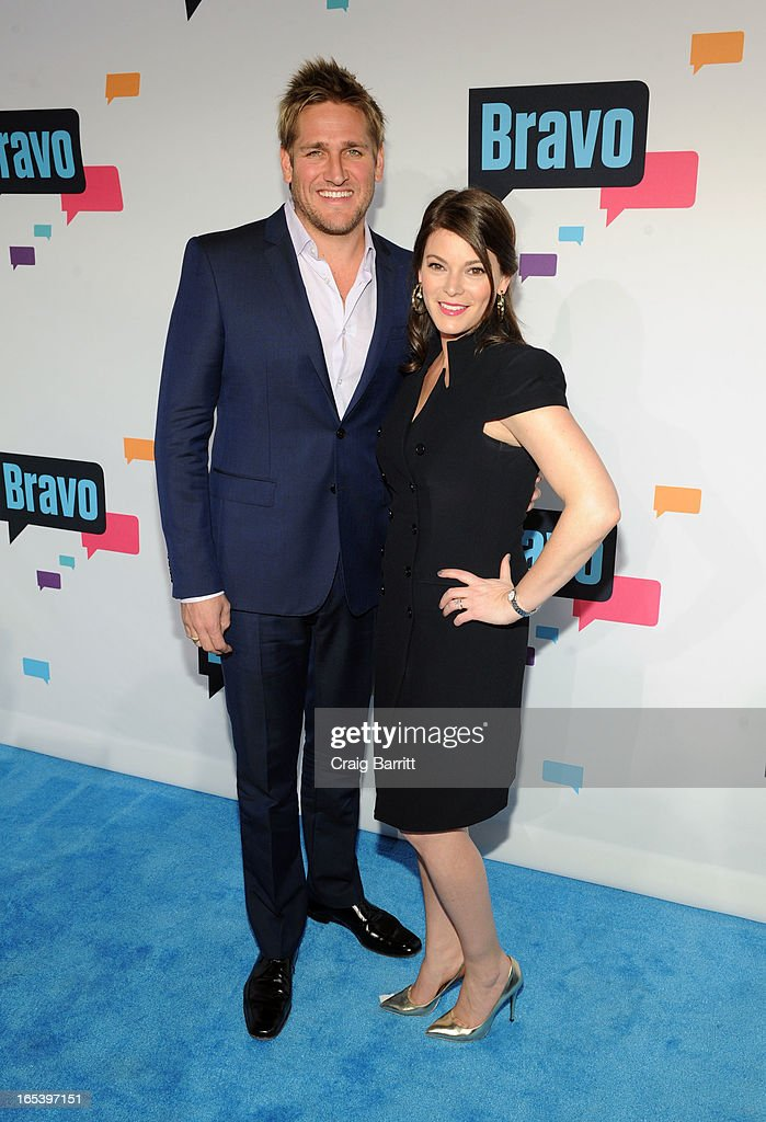 Curtis Stone and Gail Simmons attend the 2013 Bravo New York Upfront at Pillars 37 Studios on April 3, 2013 in New York City.