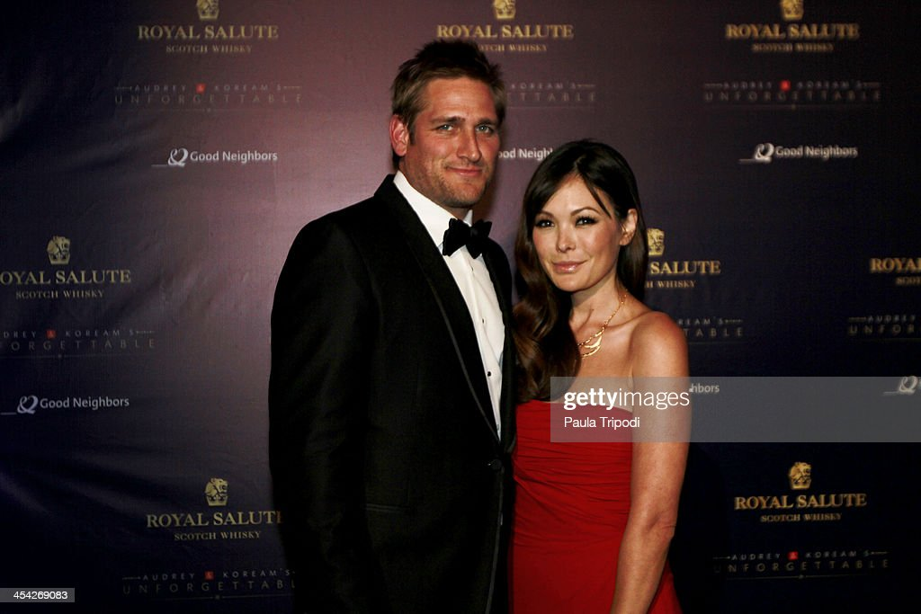 Curtis Stone and Lindsay Price attend the 12th Annual Unforgettable Gala at Park Plaza on December 7, 2013 in Los Angeles, California.