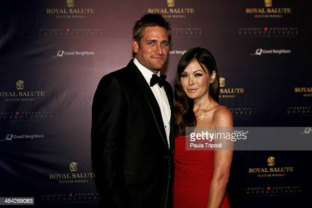 Curtis Stone and Lindsay Price attend the 12th Annual Unforgettable Gala at Park Plaza on December 7 2013 in Los Angeles California