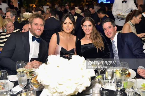 Curtis Stone Lindsay Price Rochelle Gores Fredston and David Fredston attend Learning Lab Ventures 2019 Gala Presented by Farfetch at Beverly Hills...