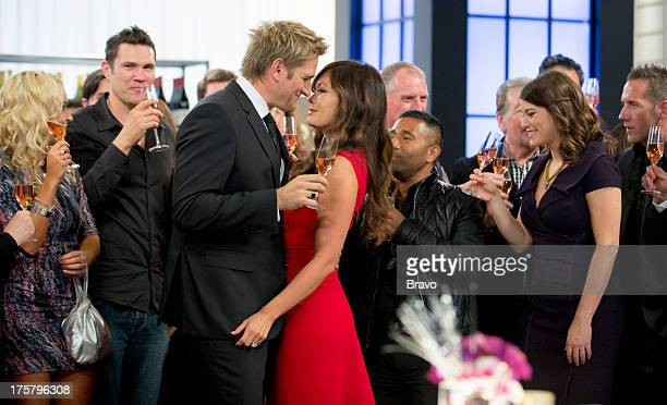 MASTERS Curtis' Surprise Party Episode 504 Pictured Judges Curtis Stone Lindsay Price Gail Simmons James Oseland