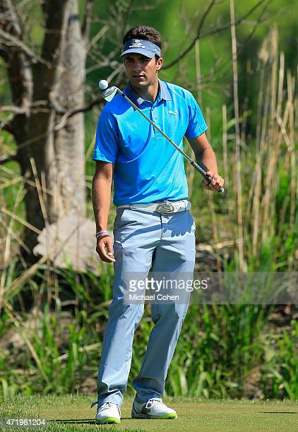 Curtis Thompson bounces a ball off his club during the third round of the United Leasing Championship held at Victoria National Golf Club on May 2...