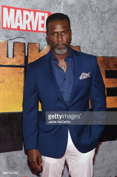 Curtiss Cook attends the 'Luke Cage' Season 2 premiere at The Edison Ballroom on June 21 2018 in New York City