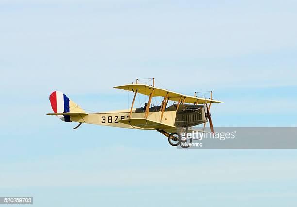 Curtiss JN-4H biplane