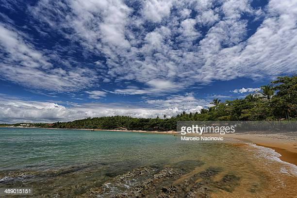 curuípe and espelho beach at trancoso - espelho stock pictures, royalty-free photos & images