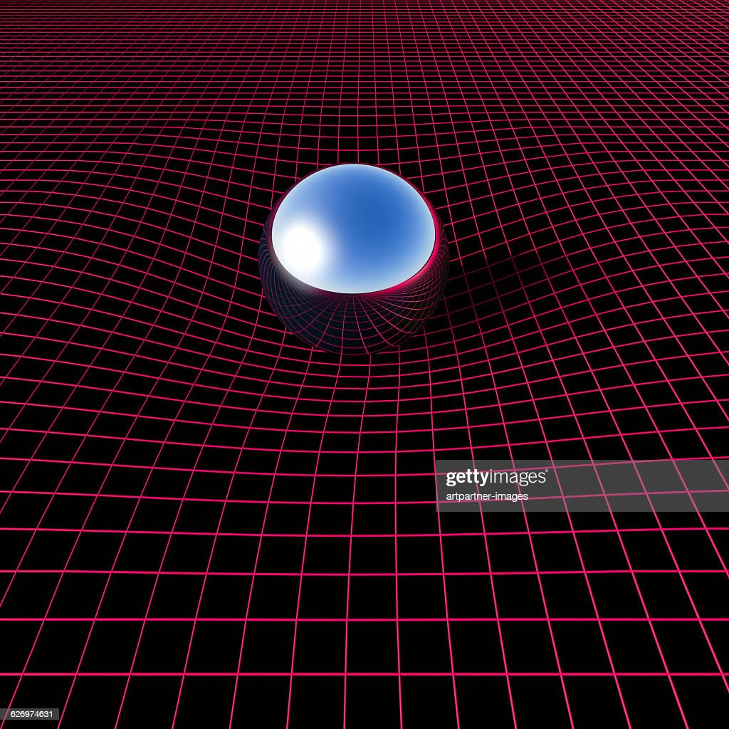 curvature of space : Stock Photo