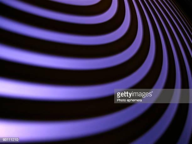 Curvature, purple and black