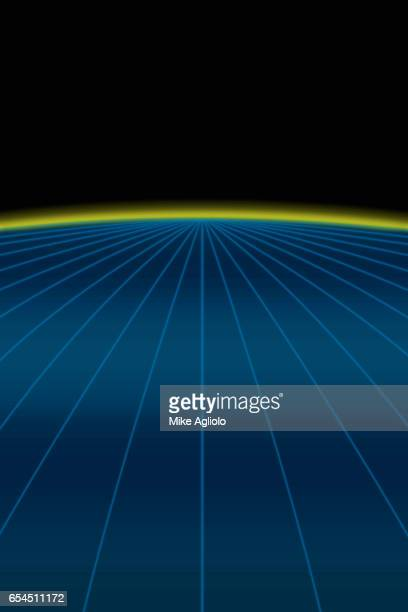 curve and lines - mike agliolo stock pictures, royalty-free photos & images