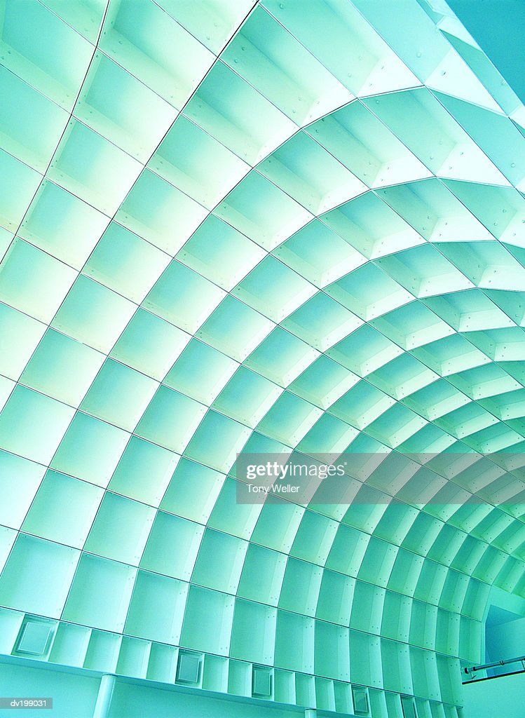 Curved ceiling : Stock Photo