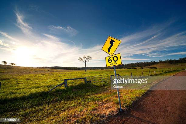 Curved Road Ahead