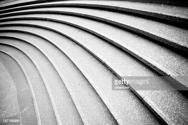 curved steps - curve stock photos and pictures