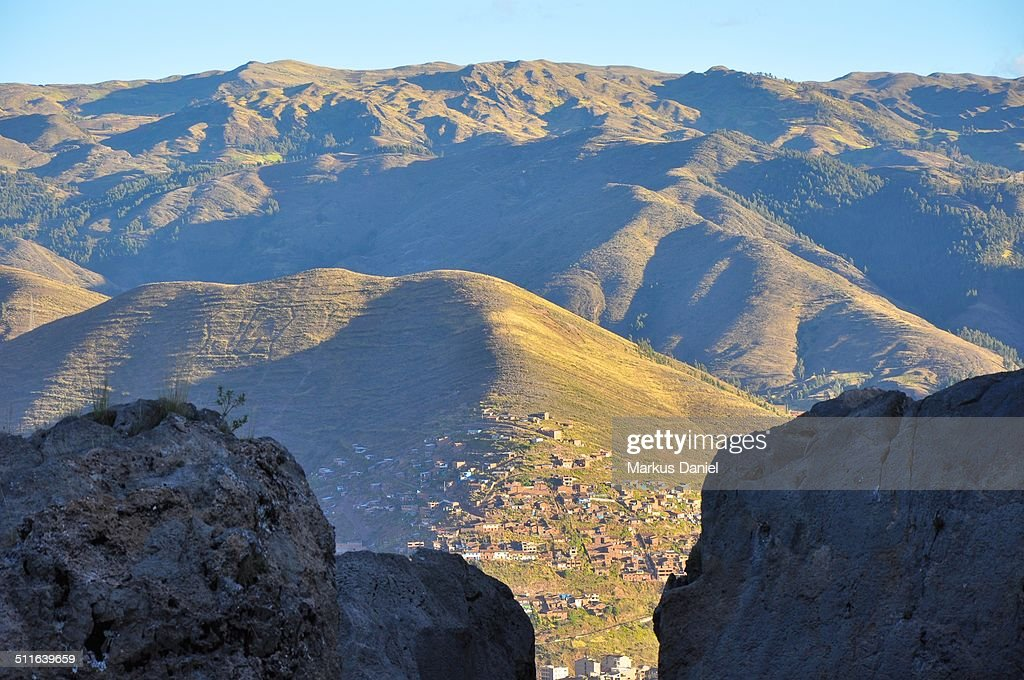 Cusco and highlands of the aAndes, Peru : Stock-Foto