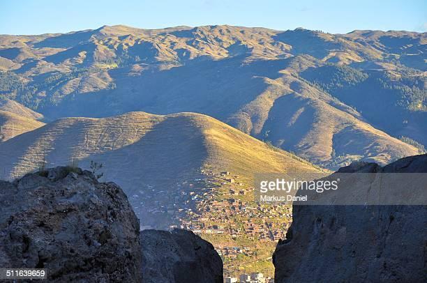 """cusco and highlands of the aandes, peru - """"markus daniel"""" - fotografias e filmes do acervo"""