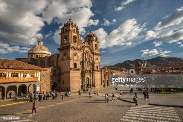 cusco city, peru - provinz cusco stock-fotos und bilder