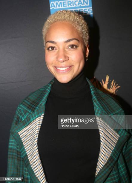 Cush Jumbo attends opening night of Tina The Tina Turner Musical at LuntFontanne Theatre on November 07 2019 in New York City