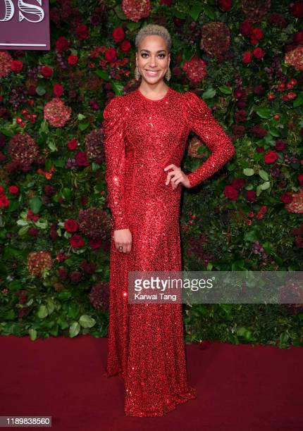 Cush Jumbo attends the 65th Evening Standard Theatre Awards at London Coliseum on November 24 2019 in London England