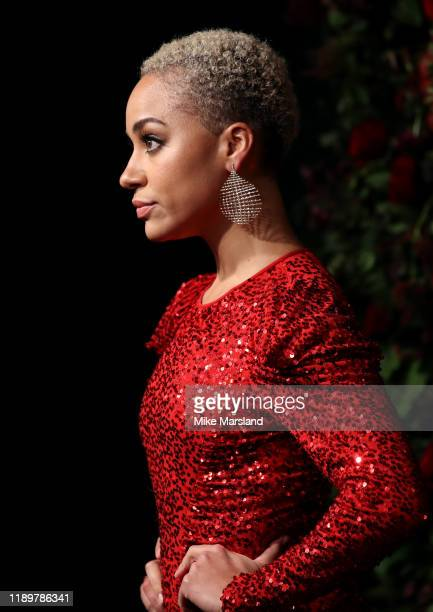 Cush Jumbo attends the 65th Evening Standard Theatre Awards at the London Coliseum on November 24 2019 in London England
