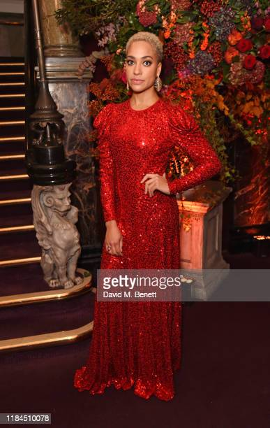 Cush Jumbo attends the 65th Evening Standard Theatre Awards in association with Michael Kors at the London Coliseum on November 24 2019 in London...