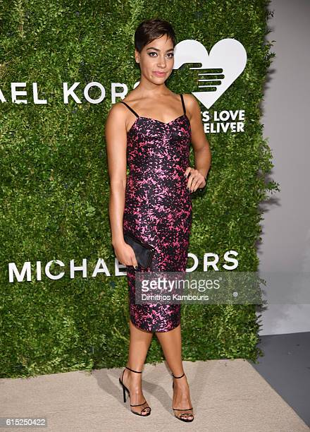 Cush Jumbo attends the God's Love We Deliver Golden Heart Awards on October 17 2016 in New York City