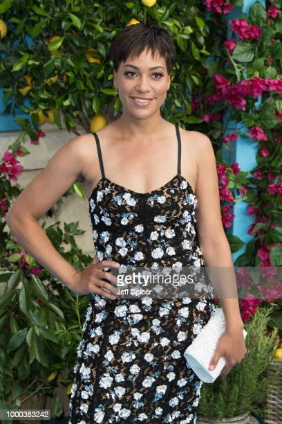 Cush Jumbo attends the UK Premiere of Mamma Mia Here We Go Again at Eventim Apollo on July 16 2018 in London England