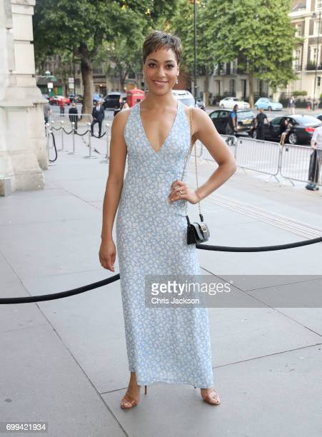 Cush Jumbo attends the VA summer party at The VA on June 21 2017 in London England