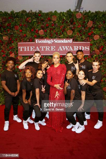 Cush Jumbo with The BRIT School attend 65th Evening Standard theatre Awards in association with Michael Kors at the London Coliseum on November 24...