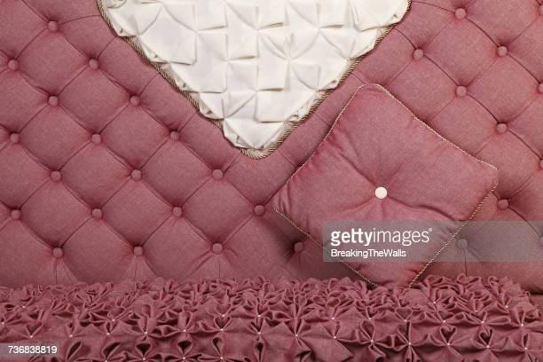 Cushion On Pink Sofa