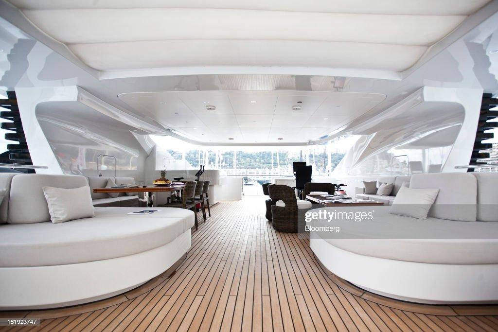 Luxury Superyachts At The Monaco Yacht Show : News Photo