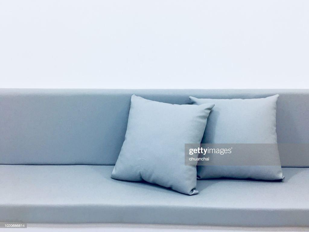 Cushions On Sofa At Home : Stock Photo