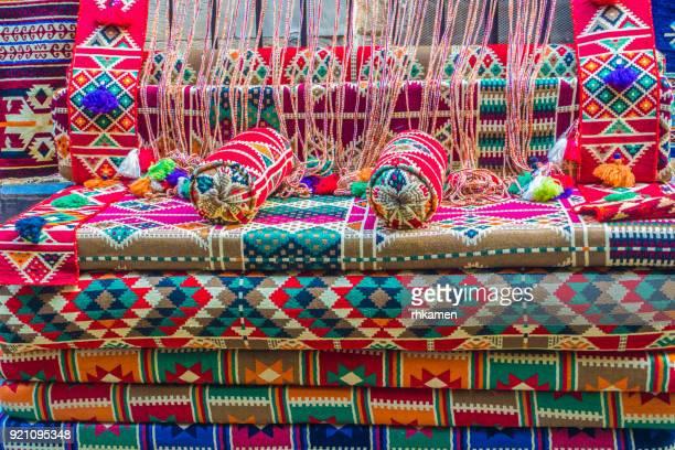 Cushions, Tentmakers' Street, Cairo, Egypt