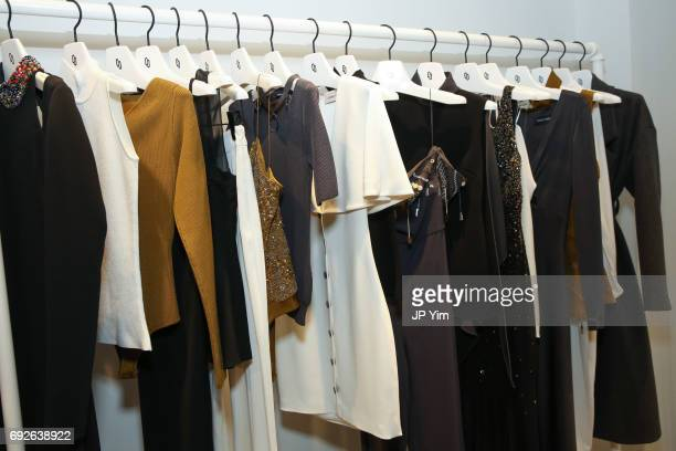 Cushnie Et Ochs Resort 2018 clothing presented at the Cushnie Et Ochs showroom on June 5 2017 in New York City
