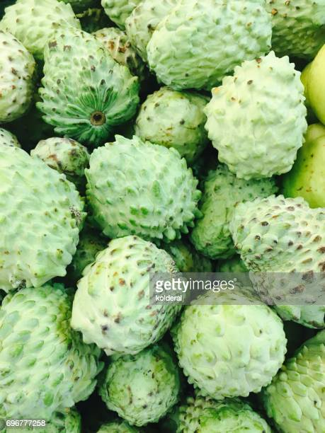 Custard Apple fruit full frame