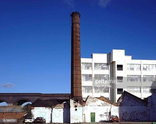 Custard Factory Birmingham United Kingdom Architect Architect Unknown Custard Factory Overall From Car Park