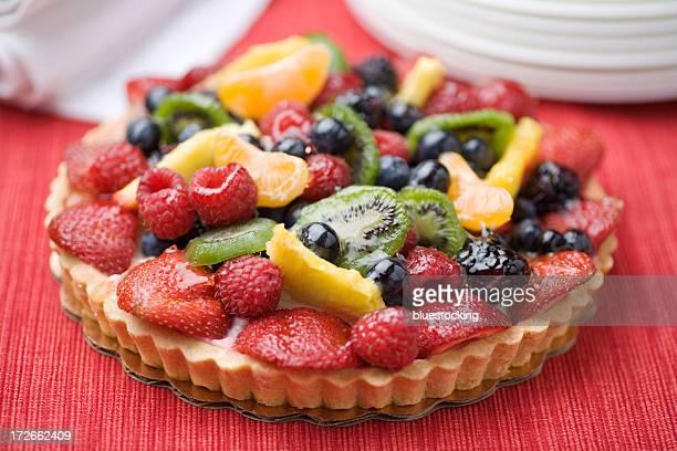 Custard Fruit Tart Pastry