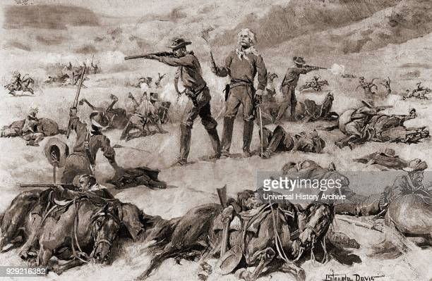 Custer's Last Stand at the Battle of the Little Bighorn in 1876 George Armstrong Custer 1839 – 1876 United States Army officer and cavalry commander...