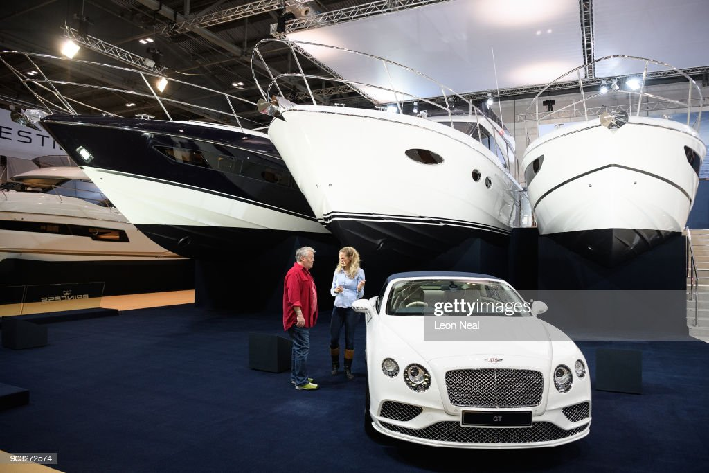 A Custom Bentley Continental Gt Convertible Galene Edition Car Is News Photo Getty Images